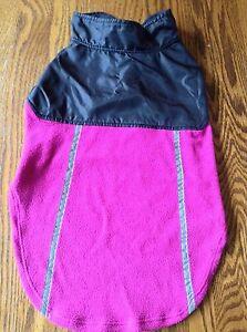 Great Choice Fleece / Sweater Dog Size S C Pink/black