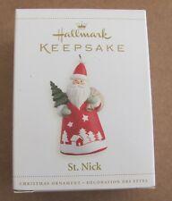 2006 Hallmark Keepsake St. Nick  Ornament NEW!