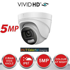 COLOUR CAST VU 5MP CCTV CAMERA 4IN1 5 MP FULL HD 20M IR EXIR NIGHT VISION UK