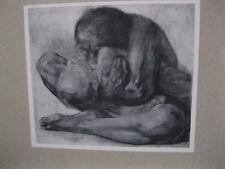 Käthe Kollwitz Das sterbende Kind Druck um 1910