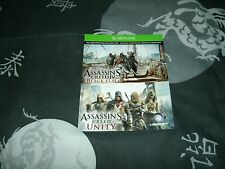 Assassin's Creed: Unity And AC IV: Black Flag DLC Games Xbox One Brand New