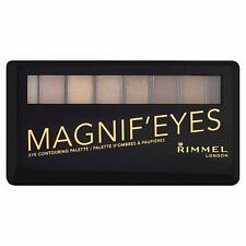 Rimmel Eyeshadow Pallette, Magnif'eyes 001 Keep Calm + Wear Gold  8 Shades