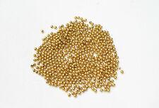Beads Gold Round Beads 3.5mm