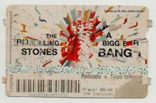 PORTUGAL THE ROLLING STONES A BIGG BANG TICKET 2007