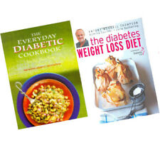 Diabetes Weight Loss Diet, Everyday Diabetic Cookbook 2 Books Collection Set NEW