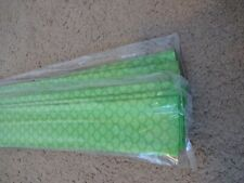 10 Rod Building Wrapping Lime Green color Fish Scale Heat Shrink tubing 40mmx1M
