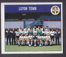 PANINI-FOOTBALL 89-Nº 119 Luton Team Group