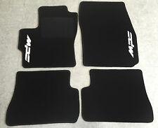 Autoteppich Fußmatten für Mazda 3 MPS BK 2003-2009 schwarz weiss Neuware 4teilig