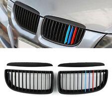 M Color Black Reins Calandre Grill Pour BMW E90 3 Series Sedan 2005-2008 AF