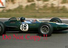 Jim Clark Lotus 25 Winner French Grand Prix 1963 Photograph 1