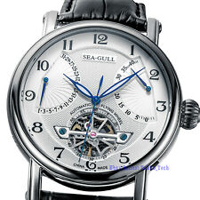 Seagull Automatic Mechanical Watch Flywheel Flyback Sapphire 28 Jewels 819.317
