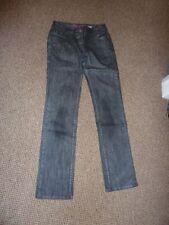 Cotton Faded Jeans Women's Low Rise NEXT