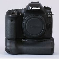 Canon EOS 80D 24.2 MP Digital SLR With Grip Lens And 4 Batteries