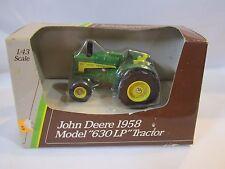 1958 John Deere Model 630 LP Wide Front row-crop Tractor Ertl 1:43 Diecast 5599