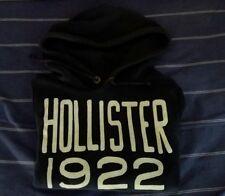 Hollister, Colore Blu, Uomo Felpa con cappuccio casual, Usato