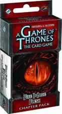 A Game of Thrones Lcg: Fire Made Flesh Chapter Pack - (New)