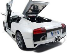 2007 LAMBORGHINI MURCIELAGO LP640 WHITE 1:18 DIECAST MODEL CAR BY 31148