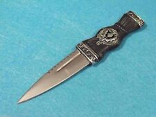 CN210555 Couteau Mini Scottish Dirk Lame Acier Inox Manche ABS Fourreau Avec Déc
