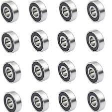 20PCS 5*13*4MM 695-2RS R-1350 5x13x4mm miniature ball bearings