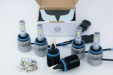 LED Headlight Fog Interior Lights for Holden VY VZ Commodore with Reflector Low