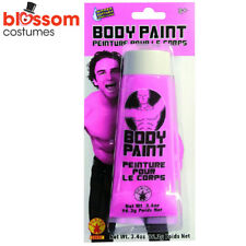 AC364 Pink Face Body Paint 100ml Tube Special Effects Stage Make Up Halloween