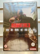 BRAND NEW AND FACTORY SEALED RESIDENT EVIL 3 NEMESIS GAMECUBE