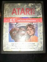E.T. The Extra Terrestrial (Atari 2600, 1982) *BUY 2 GET 1 FREE +FREE SHIPPING*