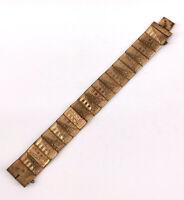 99825702 Armband Tombak vergoldet alt  Art deco