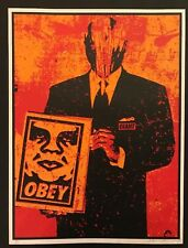 SUIT - Shepard Fairey - Signed/Numbered - VERY RARE First Edition -1999
