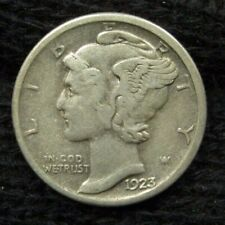 1923-S Mercury Dime 90% SILVER 10C