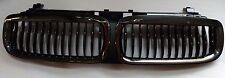 BMW E65 2002-2005 7-Series 745i 745Li Front Kidney Grille Grill Black Chrome