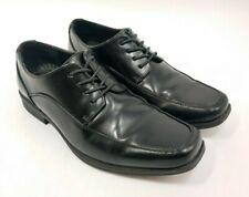 NWOB Men's Black Dress Shoes Dexter Comfort US 7 M Leather Lace Up Dress Shoes