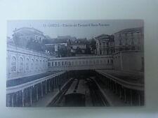 Postal. Oviedo. (Asturias). Nº 15. Estación del Ferrocarril Vasco Asturiano.