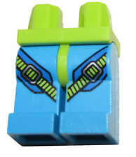 LEGO NEW GREEN AND BLUE MIIFIGURE LEGS WITH STRAPS PANTS