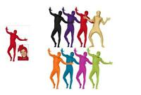 Zentai 2nd Skin Suit Mens Fancy Dress Adult Full Body Lycra Costume Stag Party