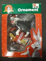 Vintage Looney Tunes Ornament Sylvester and Tweety Bird Homemade Cookies Matrix