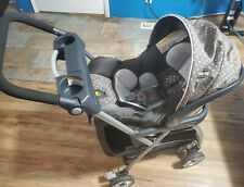 Chicco KeyFit 30 Infant Baby Car Seat lilla Used carseat w/ stroller