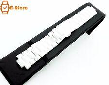 Ceramic White 22mm Strap/Band/Bracelet for EMPORIO ARMANI Womens WATCH AR1456