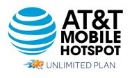 AT&T 4G LTE Unlimited Hotspot Data Plan SIM - FOR RURAL/RV/TRUCKING/HOME/BIZ USE