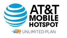 AT&T 4G LTE Unlimited Hotspot Data Plan SIM - Rural Internet? RV?? -SENT US MAIL