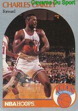 207 CHARLES OAKLEY NEW YORK KNICKS CARD CARTE BASKETBALL NBA HOOPS 1990