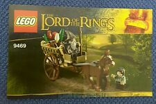 Lego Lord Of The Rings Gandalf Arrives 9469  Instructions book ONLY