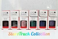 CND SHELLAC SET 6 Colors UV Gel Polish STARSTRUCK Holiday Shades 2016 Collection