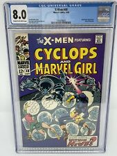 X-Men 48 CGC 8.0 OW-W Pages