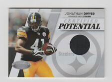 Jonathan Dwyer Steelers 2010 Certified Potential Jersey #31  220/250
