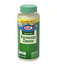 24 oz Kraft 100% Grated Parmesan Cheese Cheese Shaker- Free Fast Shipping