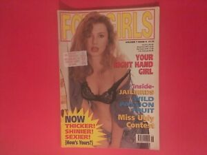 Vintage men's  magazine fotogirls galaxy publications volume 7 issue 6