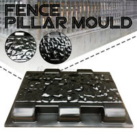 33cm Fence Pillar Moulds Cement Stone Concrete Paving Path Mold Step Garden +