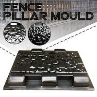 33cm Fence Pillar Moulds Cement Stone Concrete Paving Path Mold Step Garden +