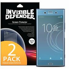 Sony Xperia XZ1 Screen Protector | Ringke Invisible Defender Full Coverage 2pcs